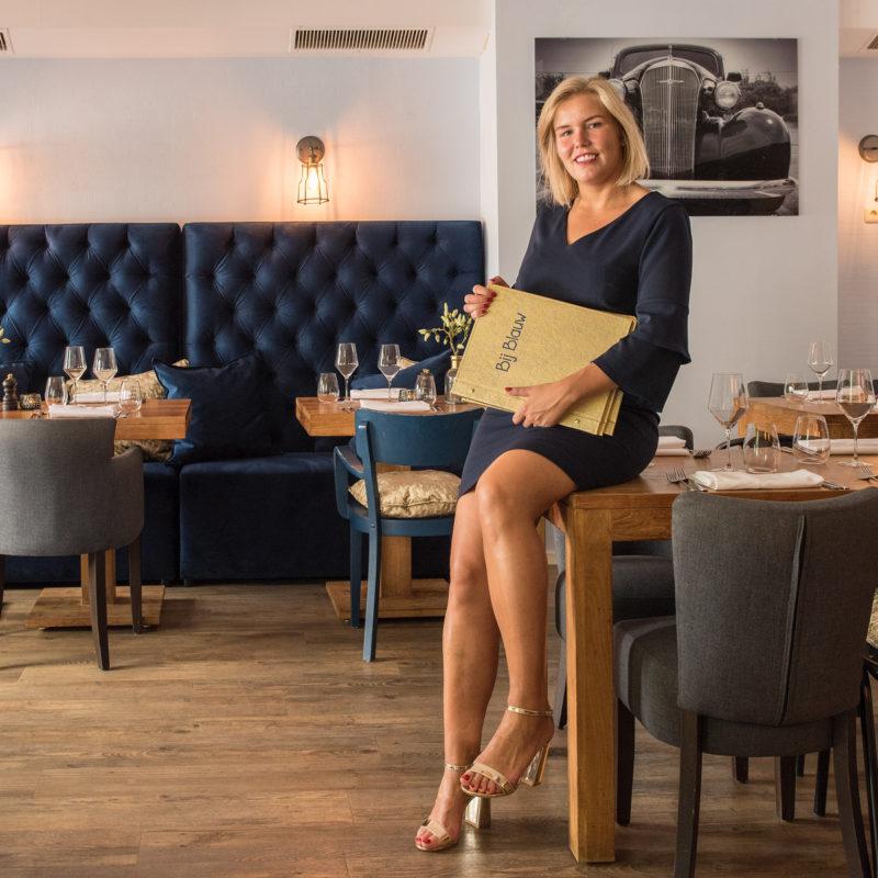 Helene Ganseman | Eigenaresse van restaurant Bij Blauw | Wageningen
