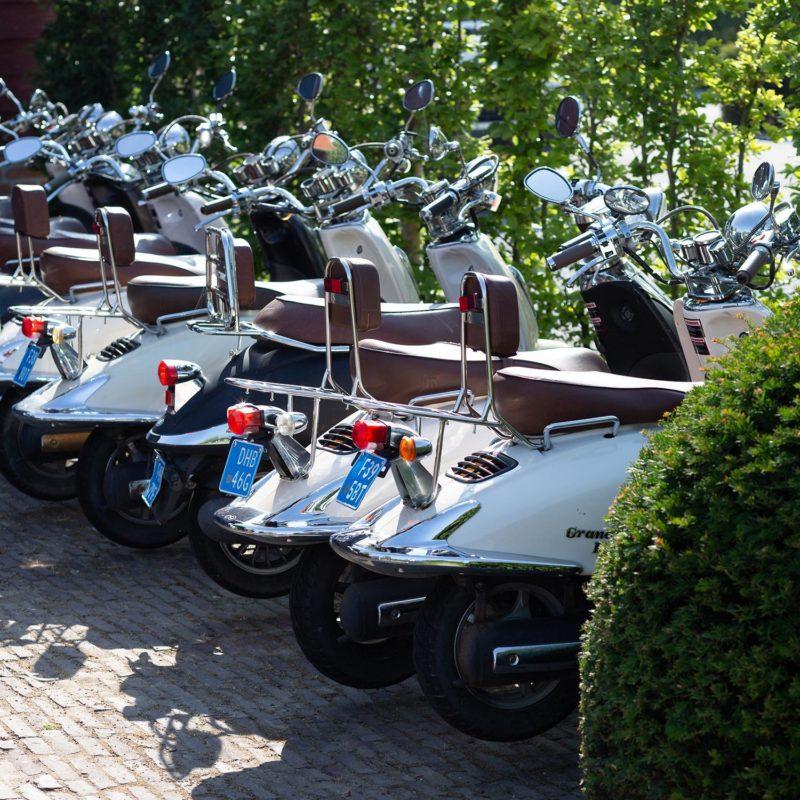 scooterarrangement | Bij Blauw | Wageningen